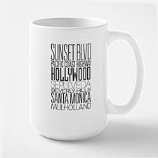 I Love LA Large Mug