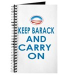Keep Barack And Carry On Journal