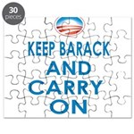 Keep Barack And Carry On Puzzle