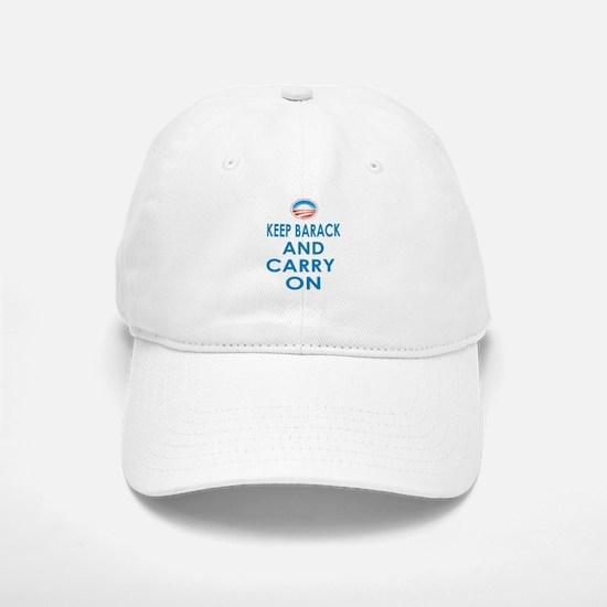 Keep Barack And Carry On Baseball Baseball Cap