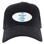 Keep Barack And Carry On Black Cap