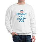 Keep Barack And Carry On Sweatshirt