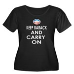 Keep Barack And Carry On Women's Plus Size Scoop N