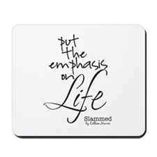 Slammed quote mousepad