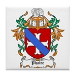 Phaire Coat of Arms Tile Coaster