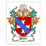 Phaire Coat of Arms Small Poster
