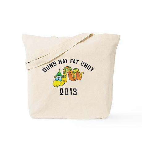 Funny Gung Hay Fat Choy 2013 Tote Bag