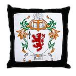 Pettit Coat of Arms Throw Pillow