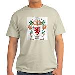 Pettit Coat of Arms Ash Grey T-Shirt