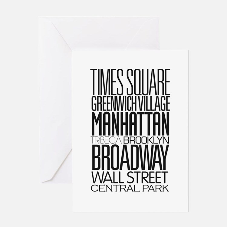 I Love NY Greeting Card