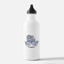 Playful Puli Water Bottle