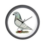 American Show Racer Hen Wall Clock