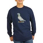 American Show Racer Hen Long Sleeve Dark T-Shirt