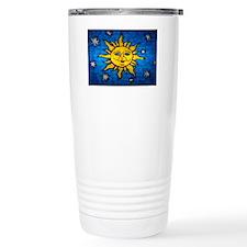 Stained Glass Sun Travel Mug