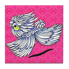 Puli Pop Art Tile Coaster