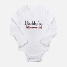 Daddy's Sous Chef Long Sleeve Infant Bodysuit