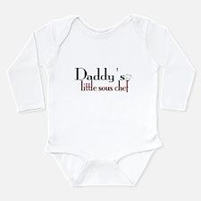 Daddy's Sous Chef Onesie Romper Suit