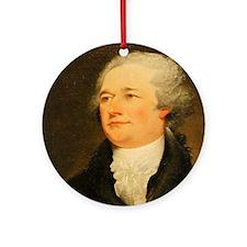 Founding Fathers: Alexander Hamilton Ornament (Rou