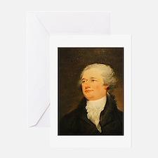 Founding Fathers: Alexander Hamilton Greeting Card