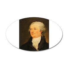 Founding Fathers: Alexander Hamilton 35x21 Oval Wa