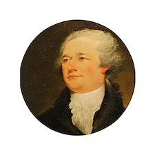 "Founding Fathers: Alexander Hamilton 3.5"" Button ("