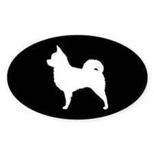 Long Hair Chihuahua Decal