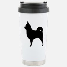 Long Hair Chihuahua Stainless Steel Travel Mug
