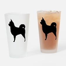 Long Hair Chihuahua Drinking Glass