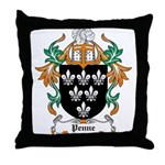 Penne Coat of Arms Throw Pillow