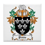 Penne Coat of Arms Tile Coaster