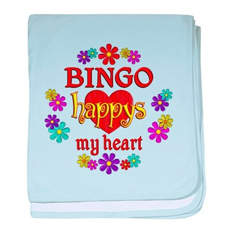 BINGO Happy baby blanket