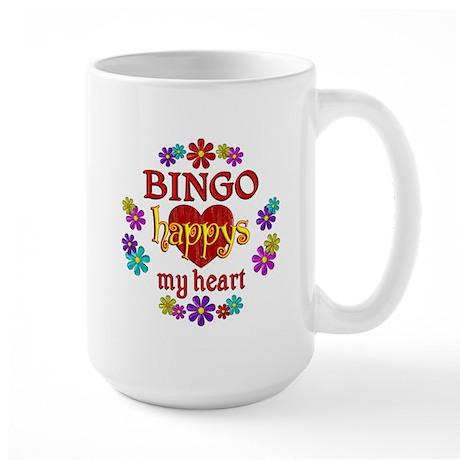BINGO Happy Large Mug