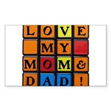 LOVE MY MOM DAD!™ Decal