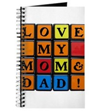 LOVE MY MOM DAD!™ Journal
