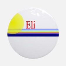 Eli Ornament (Round)