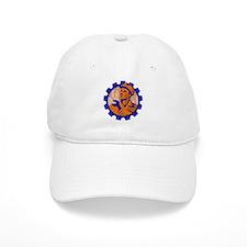Worker In a Cog Baseball Cap