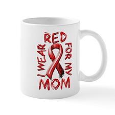 I Wear Red for my Mom Mug