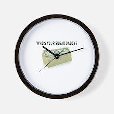 SUGAR DADDY Wall Clock