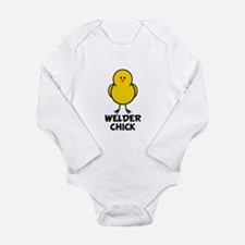 Welding Long Sleeve Infant Bodysuit