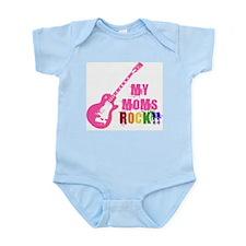 Pink Guitar_Moms Body Suit