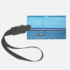 Provincetown, Massachusetts - Boat Luggage Tag