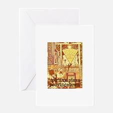 Spiritus Pizza - Provincetown Greeting Card
