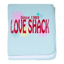Love Shack baby blanket
