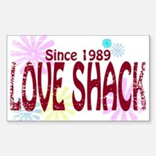 Love Shack Sticker (Rectangle)