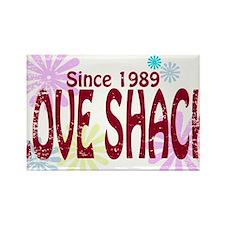Love Shack Rectangle Magnet