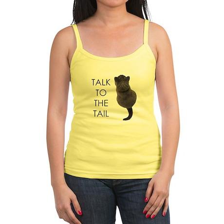 talk to the tail Jr. Spaghetti Tank