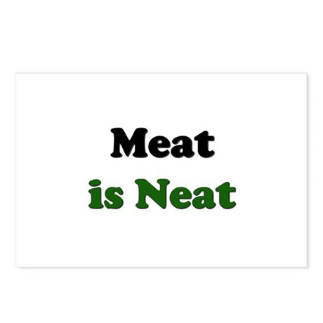 Meat is Neat Postcards (Package of 8)