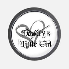 daddys little girl Wall Clock