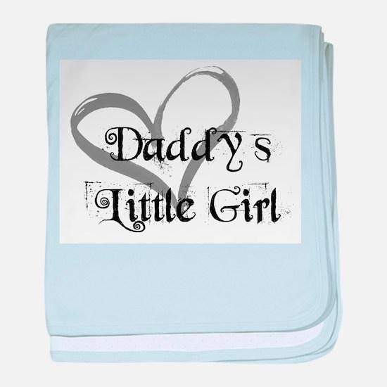 daddys little girl baby blanket