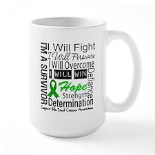 Bile Duct Cancer Perseverance Mug
